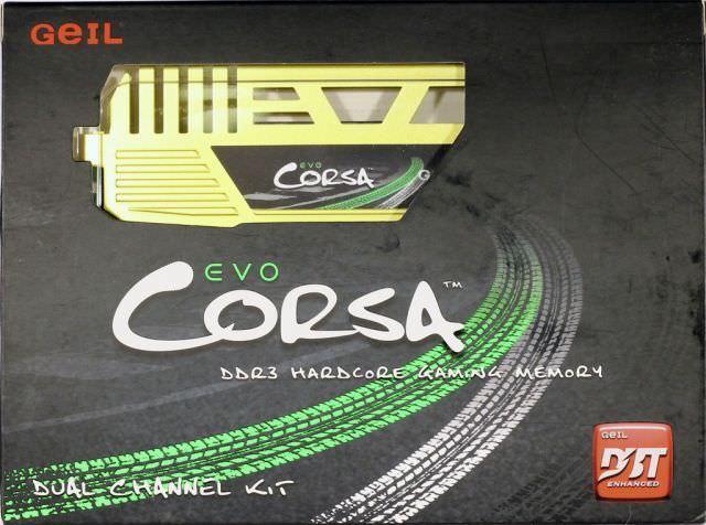 Обзор 8 ГБ комплекта оперативной памяти GeIL Evo Corsa GOC38GB1866C9DC