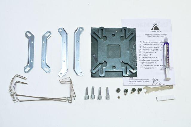 Обзор и тестирование процессорного кулера GlacialTech Igloo H46