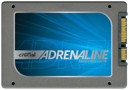 Crucial Adrenaline - solid state cache - специальный накопитель для кэширования данных