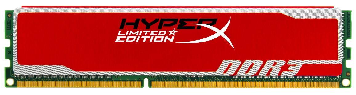 Kingston представляет новые модули оперативной памяти HyperX в красных радиаторах