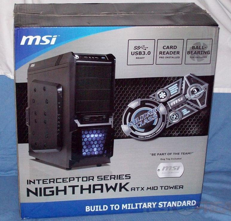 MSI представляет корпус Nighthawk