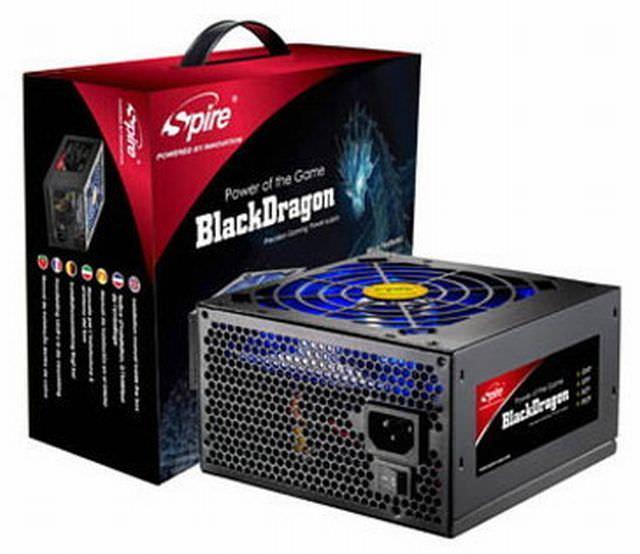 Новая серия блоков питания Black Dragon от Spire