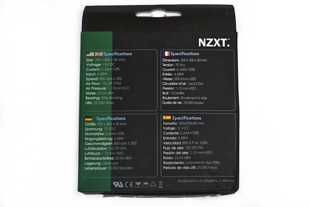 Обзор двух корпусных вентиляторов NZXT FN-200RB и FS-200RB
