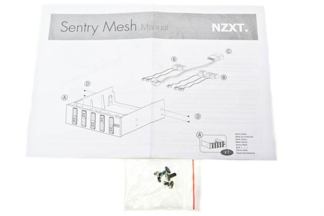 Обзор панели управления вентиляторами NZXT Sentry Mesh