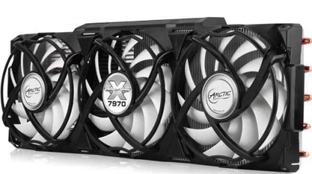 Компания Arctic представила кулер Accelero Xtreme 7970 для видеокарт AMD Radeon HD 7900/7800