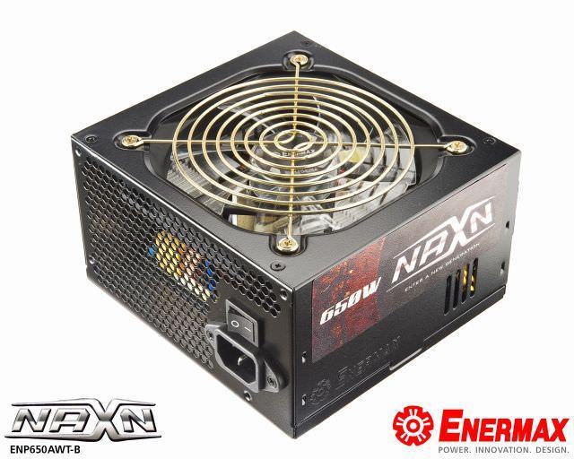 Enermax представила два новых блока питания: флагманский MaxRevo 1200W (EMR1200EWT) и бюджетный NAXN 650W (ENM650AWT-B)