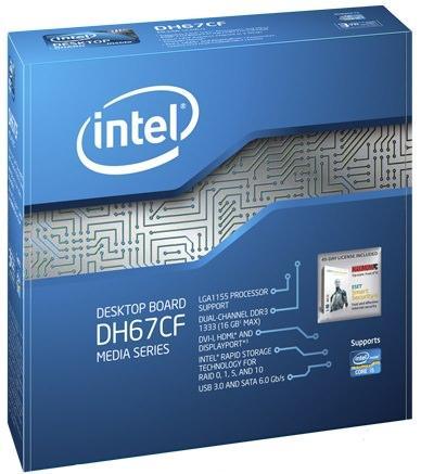 Обзор материнской платы для компактных систем Intel DH67CF