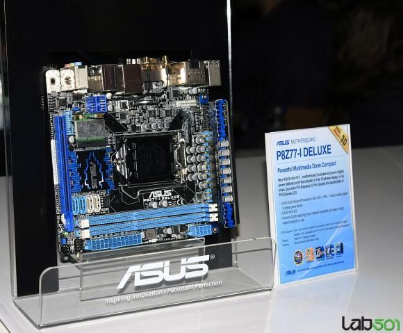 CeBIT 2012 – Трио материнских плат ASUS для процессоров Ivy Bridge