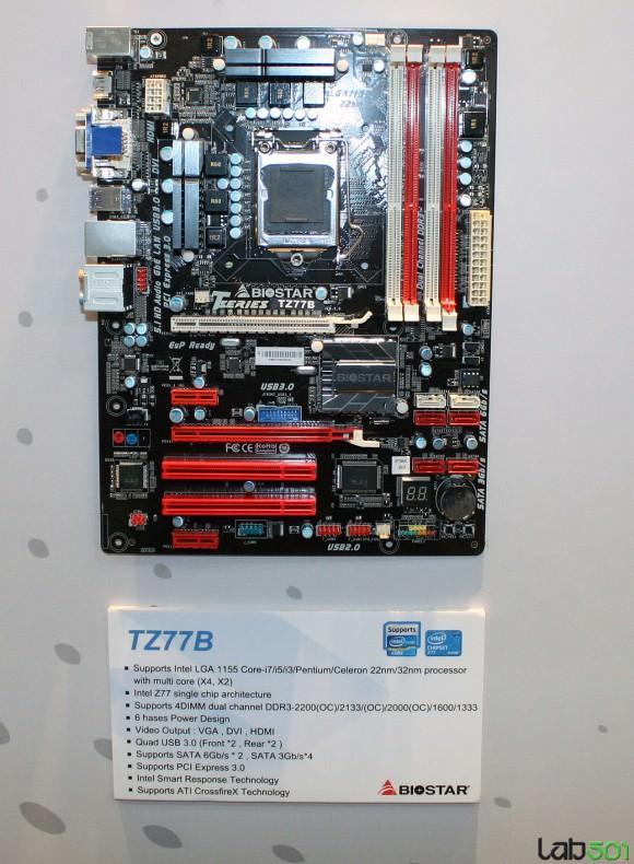 CeBIT 2012 – Представлены пять материнских плат для процессоров Ivy Brigde от компании BIOSTAR