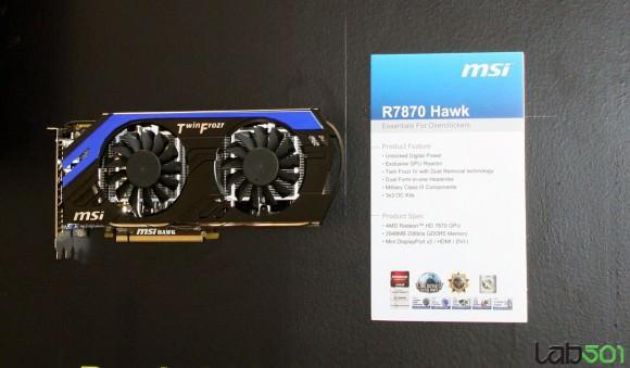 CeBIT 2012 – Компания MSI представила MSI Radeon HD 7970 Lightning и еще несколько видеокарт серии HD 7000