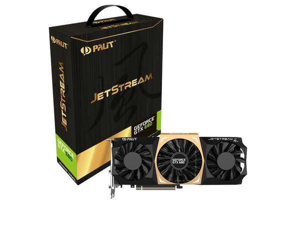Новая линейка видеокарт Palit Jetstream: GeForce GTX 680