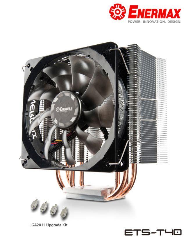 Серия процессорных кулеров ETS-T40 от Enermax получила совместимость с платформой Intel LGA 2011