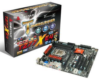 Платы BIOSTAR TZ77XE4 на чипсете Intel Z77: всё для максимальной и стабильной производительности