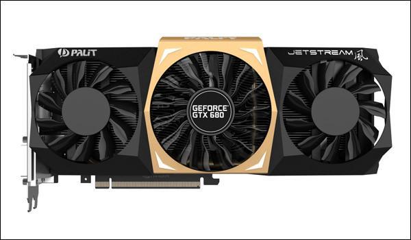 Palit представила видеокарту GeForce GTX 680 Jetstream с 4 ГБ памяти