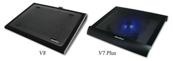 Новинки в серии охлаждающих подставок GlacialTech V-Shield