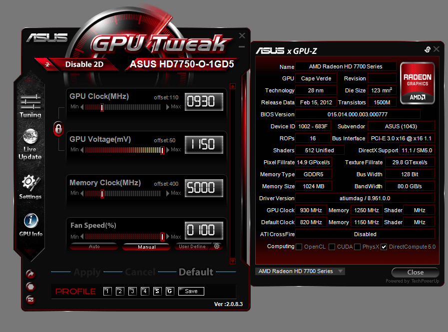 gpu tweak_oc