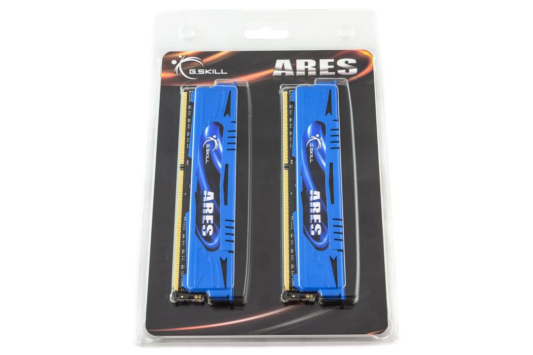 Обзор комплекта оперативной памяти G.Skill F3-2133C9D-8GAB серии Ares объемом 8 ГБ
