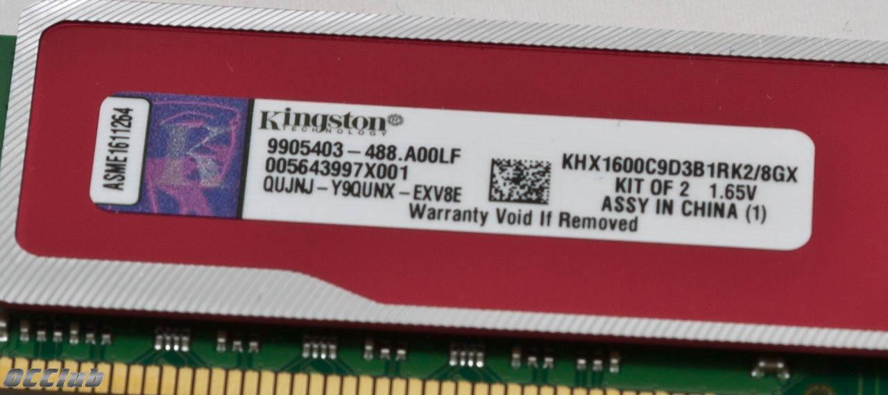 Обзор 8 ГБ комплекта памяти Kingston KHX1600C9D3B1RK2/8GX. Красный код.