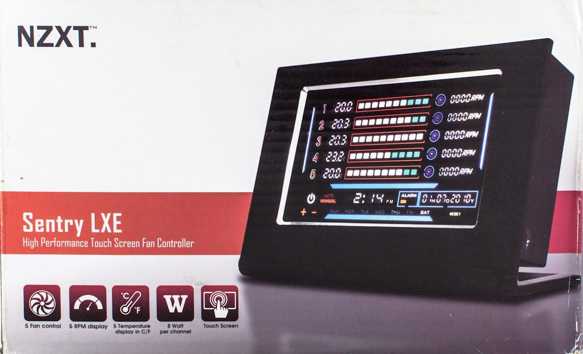Обзор панели управления вентиляторами NZXT LXE
