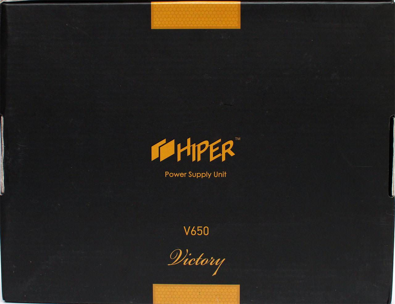 Обзор блока питания Hiper V650