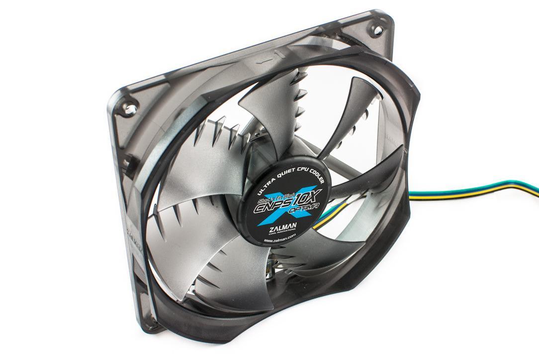 Обзор и тестирование процессорного кулера Zalman CNPS10X Optima