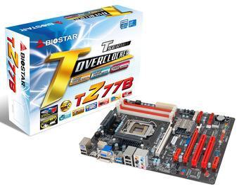 Системные платы BIOSTAR TZ77B: пиковая производительность при оптимальных затратах