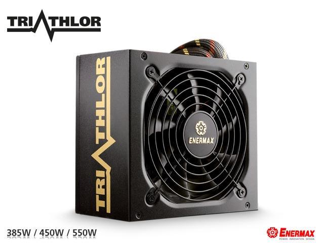 Enermax представили новую серию блоков питания Triathlor с сертификатом 80 PLUS Bronze