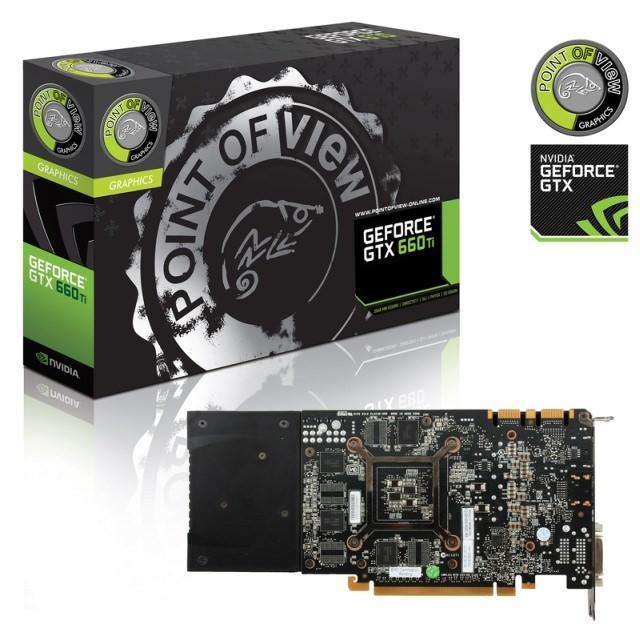 Point of View представляет высокопроизводительную видеокарту GeForce GTX 660 Ti