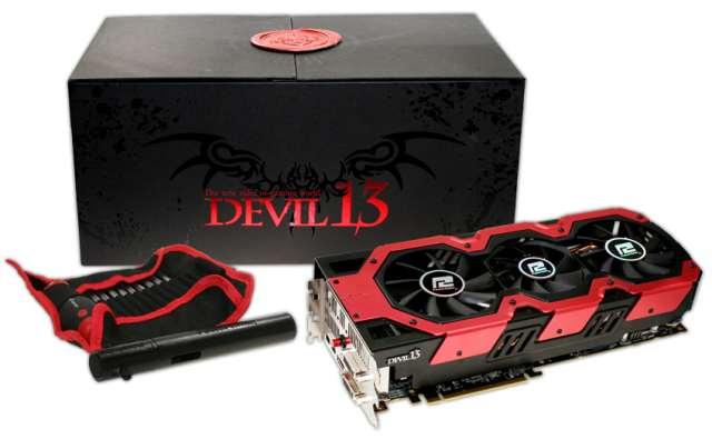 PowerColor представляет видеокарту Radeon HD 7990 Devil 13