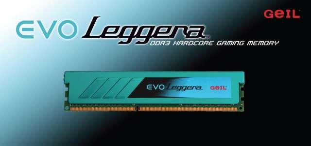 Бескомпромиссная игровая память DDR3 EVO LEGGERA – низкопрофильное решение