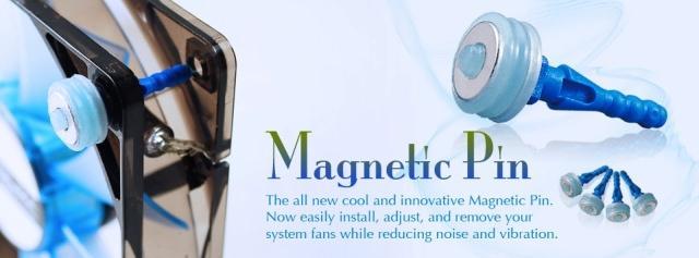 Компания Prolimatech представила антивибрационные крепления для вентиляторов на магнитах