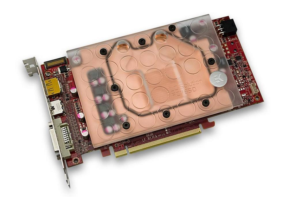 EK Water Blocks представляют водоблок для видеокарты Radeon HD 7850