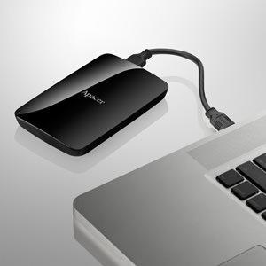"""2.5"""" портативный HDD с интерфейсом USB 3.0 Apacer AC233"""
