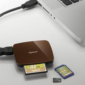 Картридер Apacer AM530 с интерфейсом USB 3.0