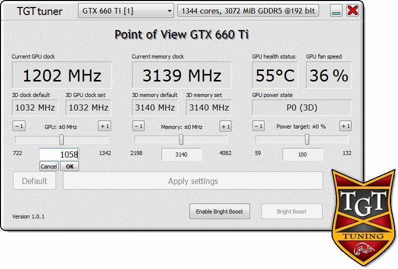 Point of View и TGT представляют утилиту TGT BigBang Tuning Utility