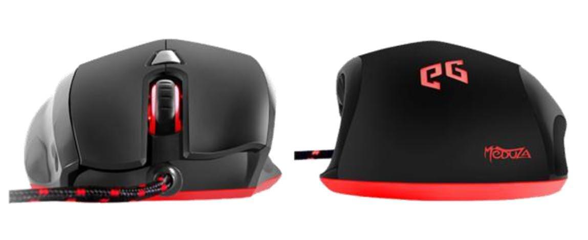EpicGear Meduza — игровая мышь с гибридным двойным сенсором