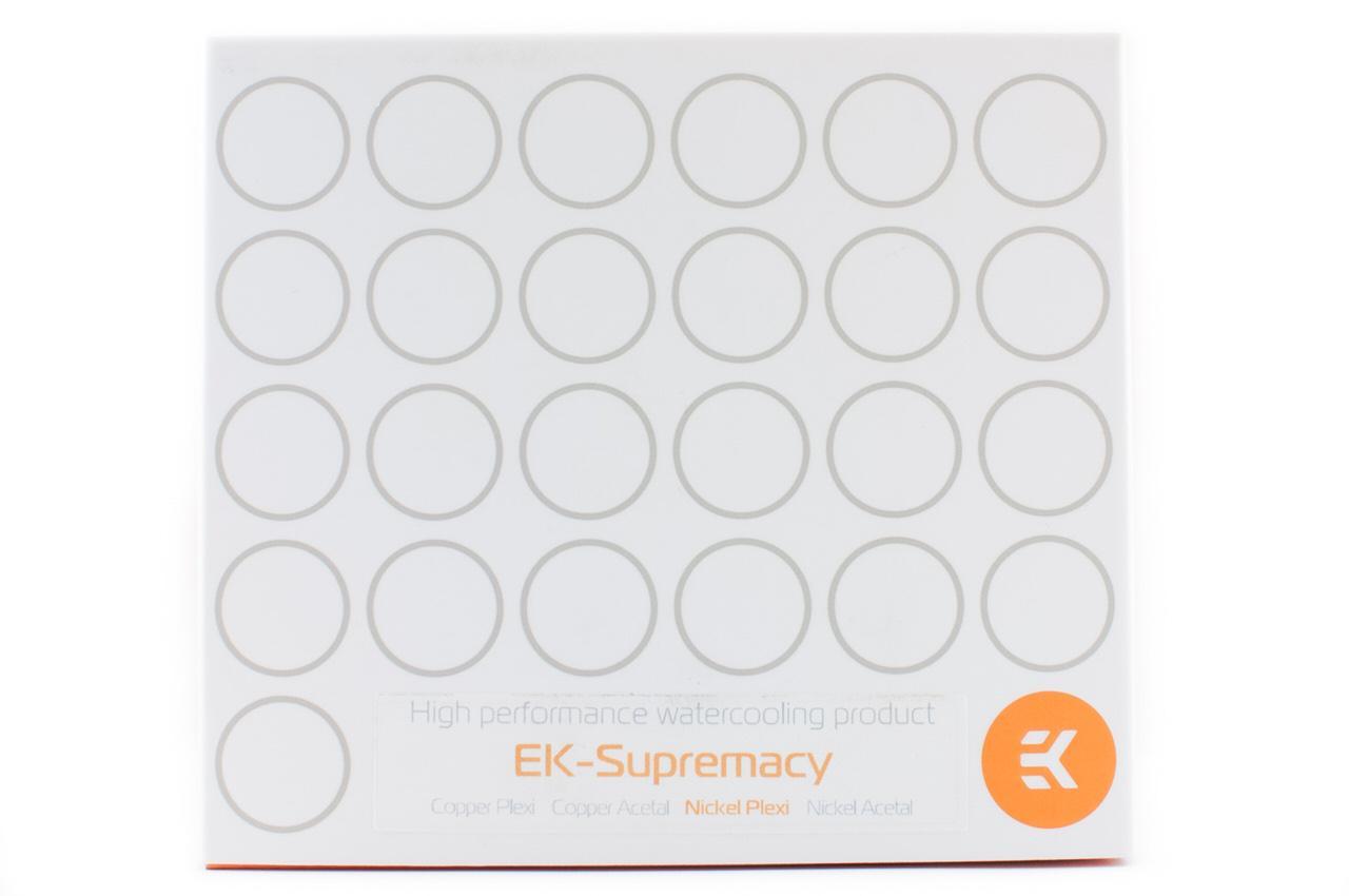 Обзор и тестирование универсального процессорного водоблока EK-Supremacy