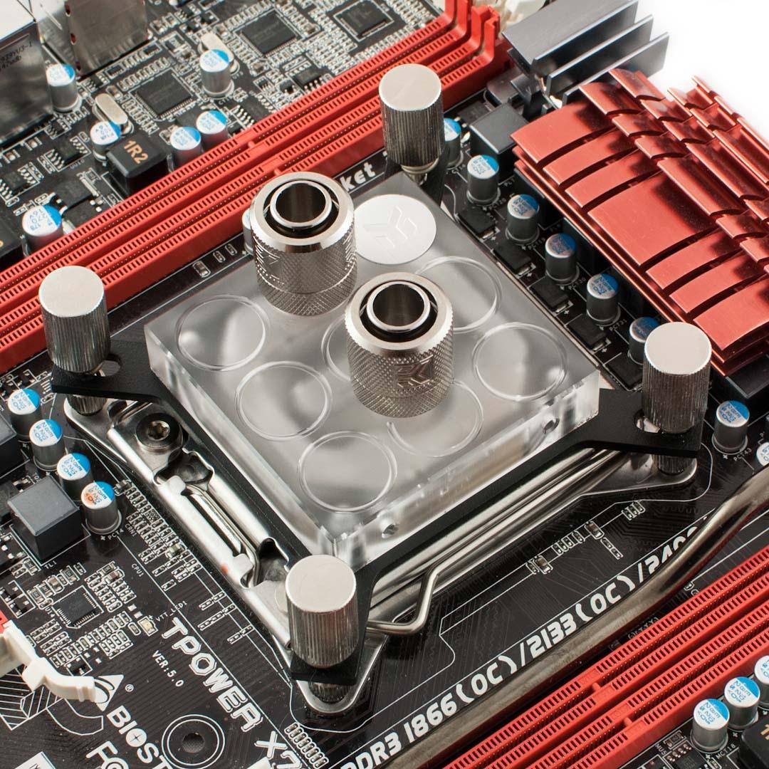 какой процессорный водоблок разобран фото долгое
