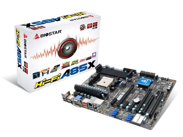 Biostar A85X Hi-Fi
