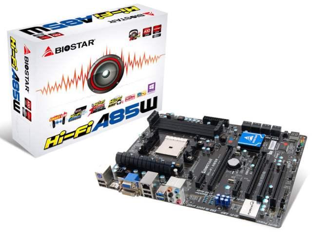 Biostar A85W Hi-Fi