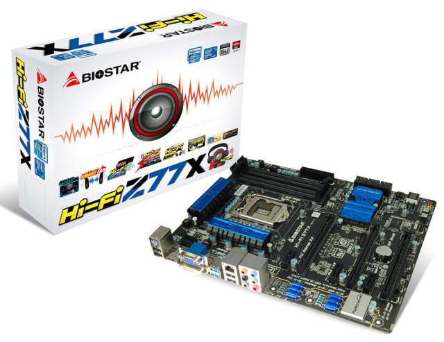 Biostar Z77X Hi-Fi
