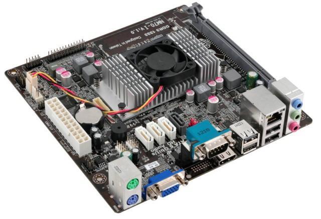 ECS представляет первую материнскую плату на базе набора микросхем Intel NM70 Express NM70-I
