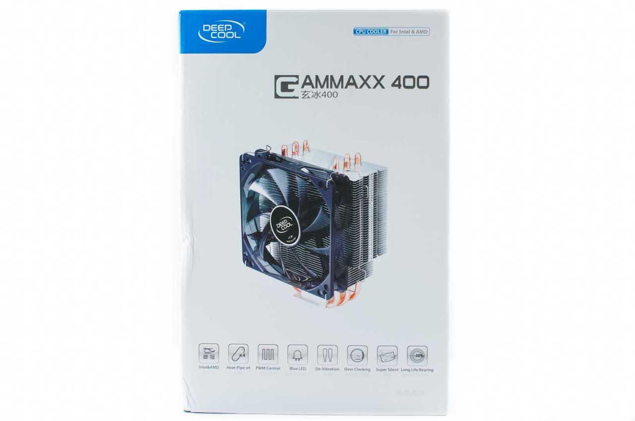 Обзор и тестирование процессорного кулера Deepcool GAMMAXX 400