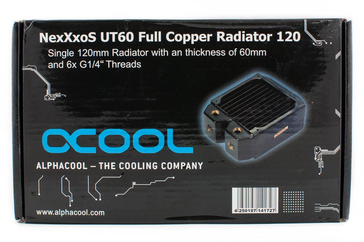 Обзор водоблока Phobya CPU-Cooler UC-1 LT и радиатора Alphacool NexXxoS UT60 Full Copper 120 или самосборная система водяного охлаждения