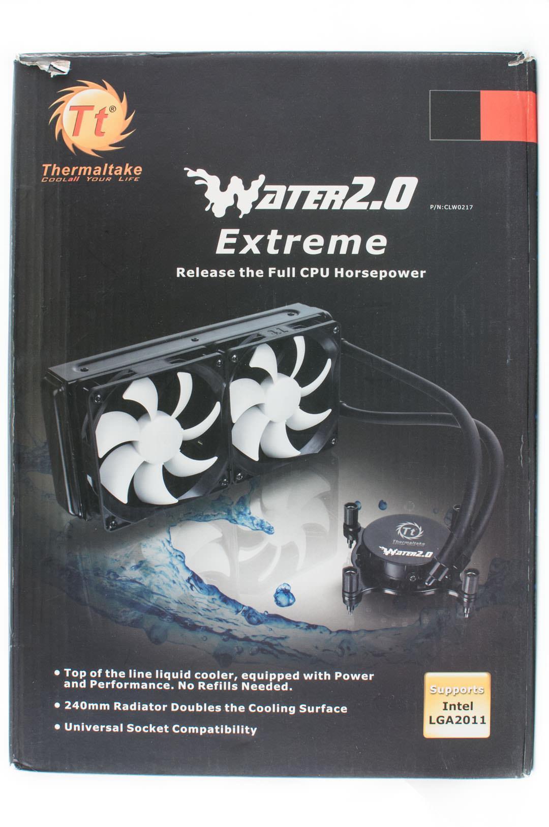 Обзор и тестирование заводской системы жидкостного охлаждения Thermaltake Water 2.0 Extreme
