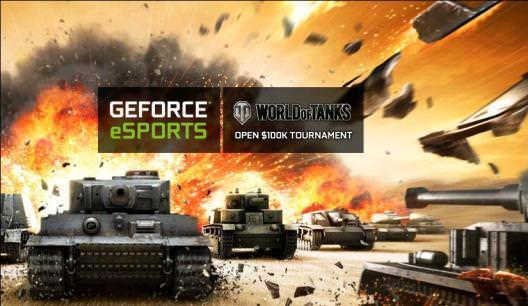 NVIDIA представляет открытый международный турнир по игре World of Tanks