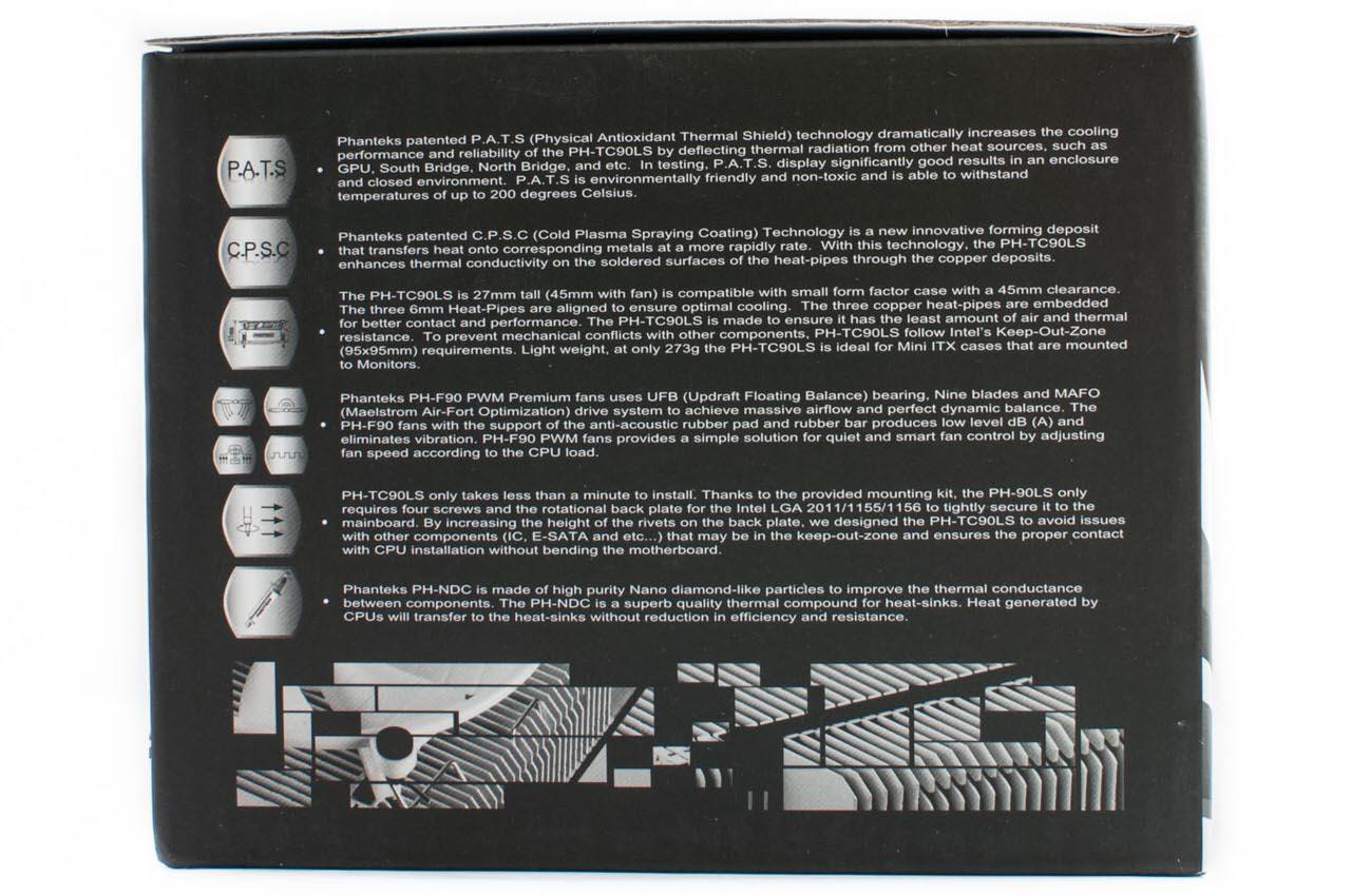 Обзор и тестирование низкопрофильного процессорного кулера Phanteks PH-TC90LS