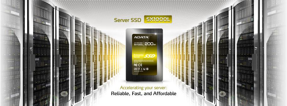 ADATA выходит на рынок серверных SSD-накопителей с моделью SX1000L