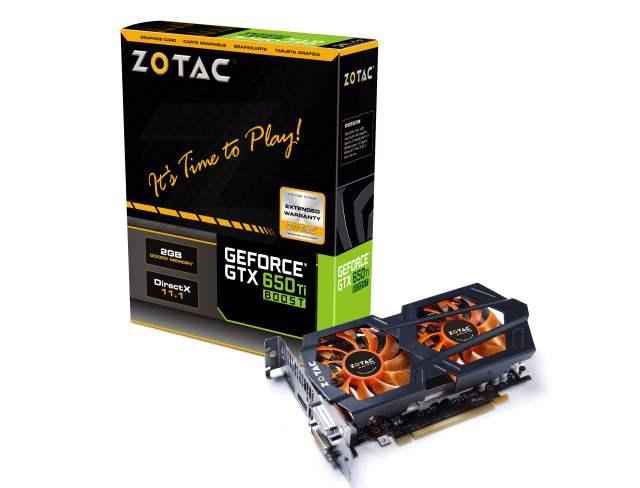 ZOTAC ускоряет серию GeForce GTX 650 Ti