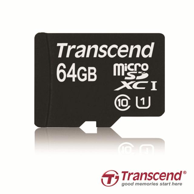 Transcend объявила о выпуске новой карты памяти 64GB microSDXC UHS-I